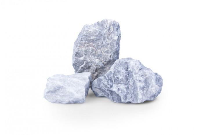 Kristall Blau Körnung:60-100mm