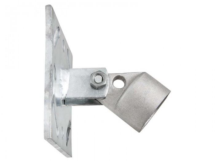 Premium Aufschraubplatte 34mm für Zaunstrebe Aufschraubhülse Maschendraht Strebe