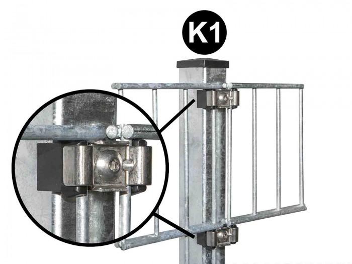 K1 Klemmdeckel Zaunpfosten