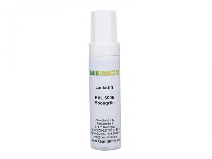 12 ml Lackstift Moosgrün RAL 6005 inkl. Pinsel