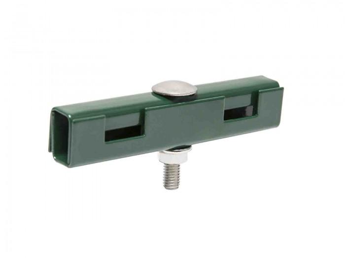 U Mattenverbinder Gittermattenverbinder RAL 6005 Moosgrün