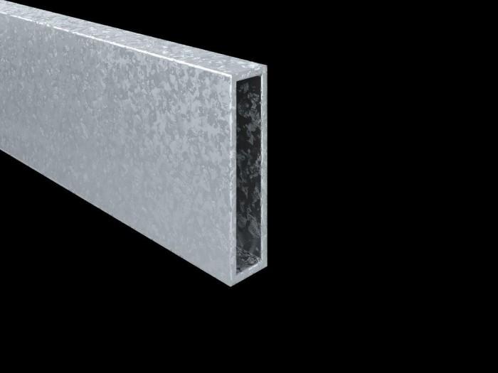 Stahlkerneinschub für Bandpfosten 80 x 20 x 3mm feuerverzinkt