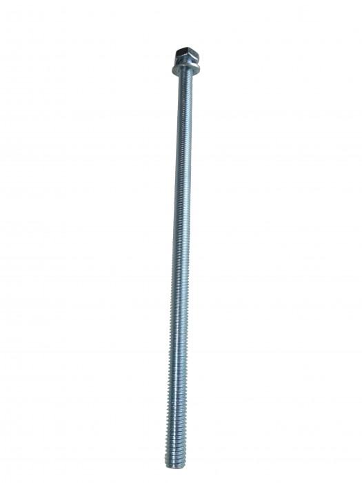 10 x Ankerstange M8 x 205mm Stahl verzinkt