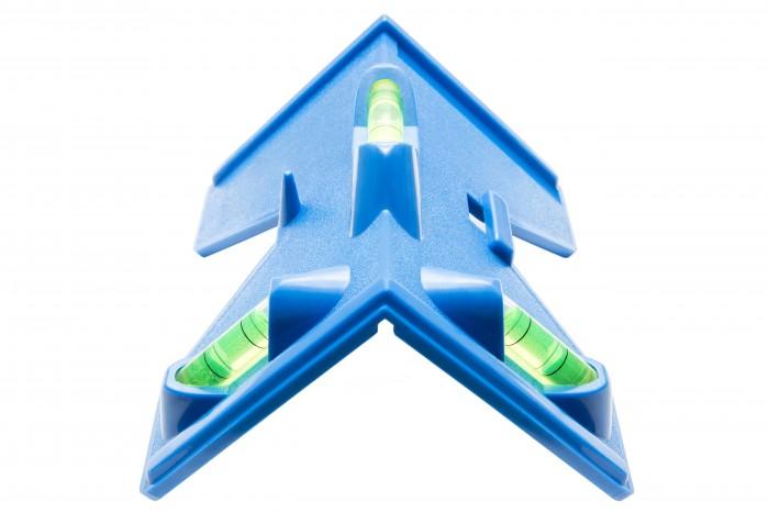 Profi Pfosten Wasserwaage inkl. 4 Magnetstreifen