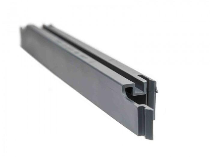 Kunststoff Steckprofil für Sichtschutzstreifen