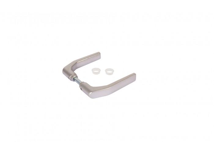 # 3006J-H Drückerpaar aus Aluminium