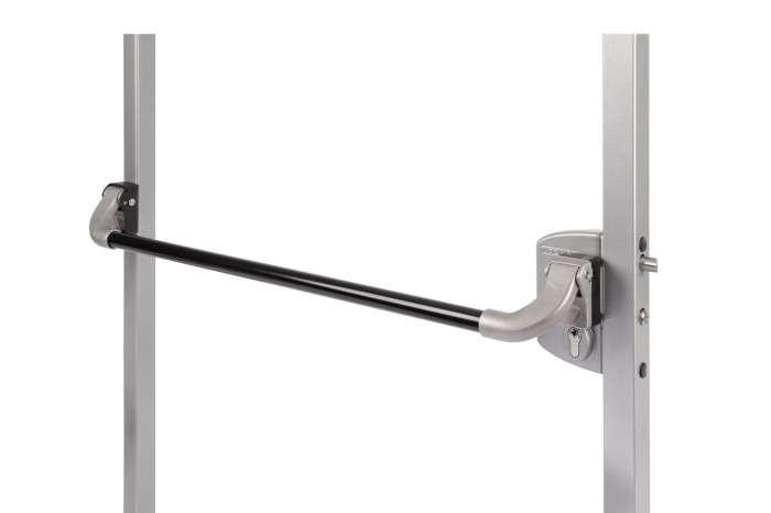 PUSHBAR-H-1150 Pushbar-Stoßgriff aus Aluminium