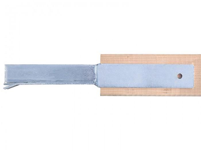 Pfostenträger 91 mm mit Mauerdorn