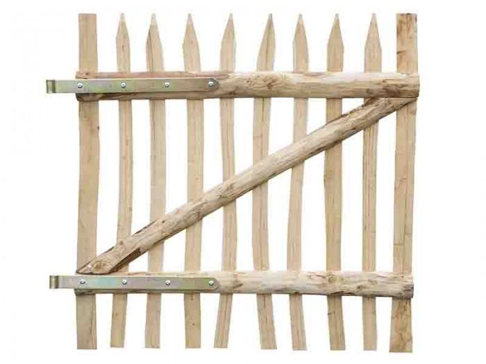 Holztor aus Kastanienholz Typ Staki B=1000mm