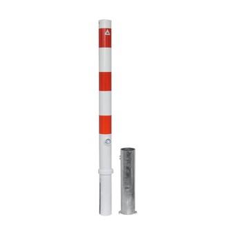 476FB Absperrpfosten Ø 76 mm - herausnehmbar