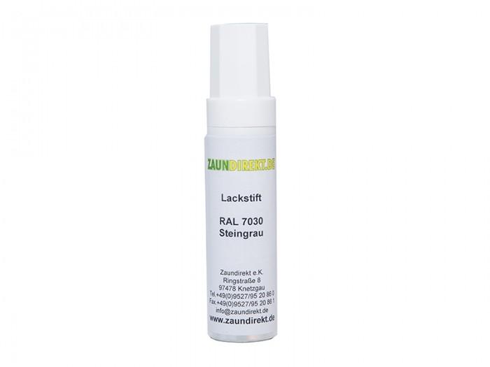 12 ml Lackstift Steingrau RAL 7030 inkl. Pinsel