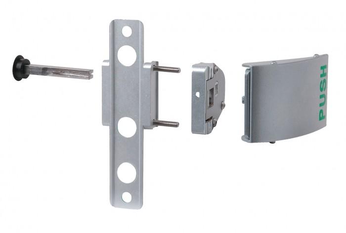 # 3006 PUSH Aluminium-Push-Set