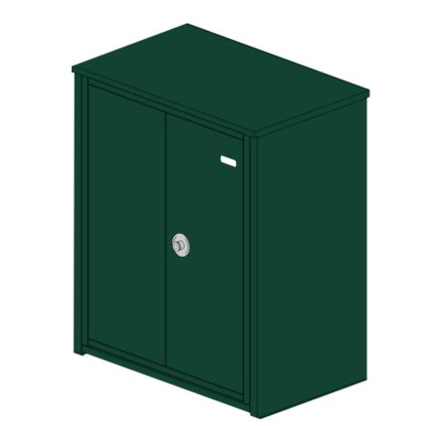 Paketbox CORREO - Abm. 850 x 710 x 470 mm