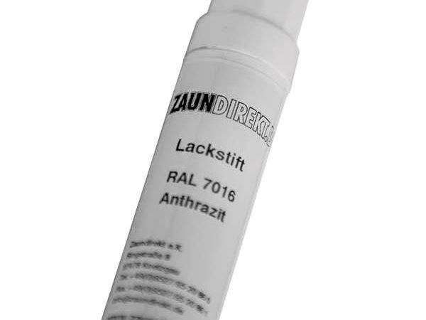 12 ml Lackstift Anthrazit RAL 7016 inkl. Pinsel